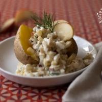 Aschermittwochessen – Matjeshäckerle mit Pellkartoffel
