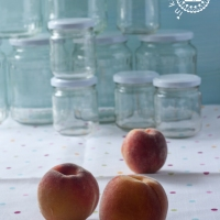 Sommer - Sonne - Pfirsich