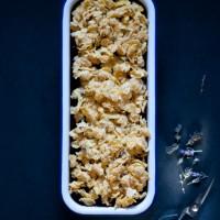 Brombeer-Ricotta-Eis mit Lavendel